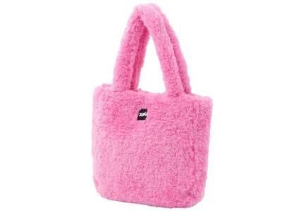 X-Girl Boa Tote Bag Pinkの写真