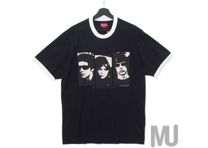 Supreme The Velvet Underground Ringer Tee Blackの写真