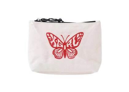 X-Girl Butterfly Mini Pouch Whiteの写真