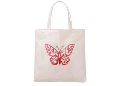 X-Girl Butterfly Tote Bag Whiteの写真