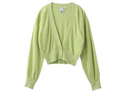 X-Girl Cropped Cardigan Light Green (OS)の写真
