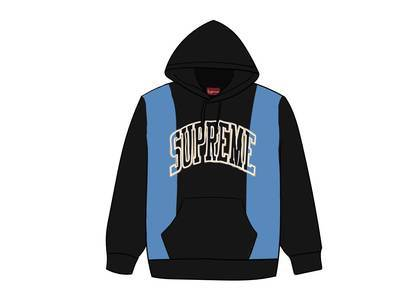 Supreme Paneled Arc Hooded Sweatshirt Blackの写真