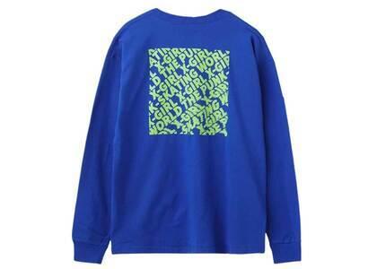 X-Girl Disturbed Box Logo Big L/S Tee Blueの写真