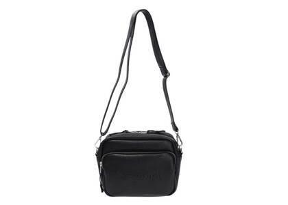 X-Girl Emboss Logo Shoulder Bag Blackの写真