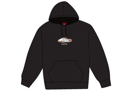Supreme Cop Car Hooded Sweatshirt Blackの写真