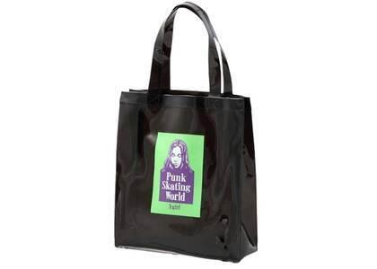 X-Girl Face Clear Tote Bag Blackの写真