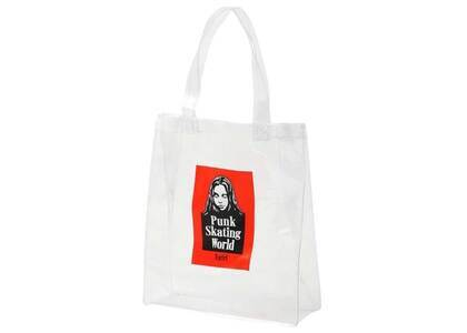 X-Girl Face Clear Tote Bag Clearの写真