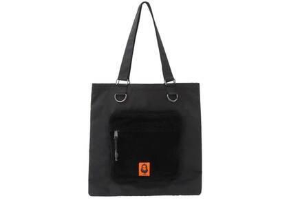 X-Girl Face Patch Tote Bag Blackの写真