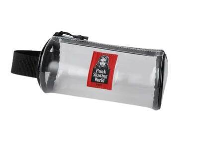 X-Girl Face Pvc Cylinder Pouch Clearの写真