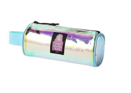 X-Girl Face Pvc Cylinder Pouch Multiの写真