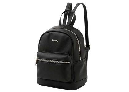 X-Girl Faux Leather Mini Daypack Blackの写真