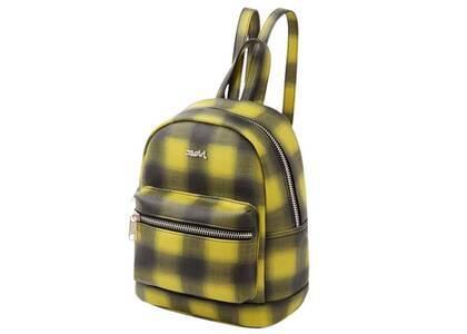 X-Girl Faux Leather Mini Daypack Yellowの写真