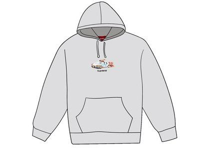 Supreme Cop Car Hooded Sweatshirt Ash Greyの写真