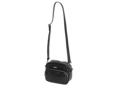 X-Girl Faux Leather Shoulder Bag Blackの写真
