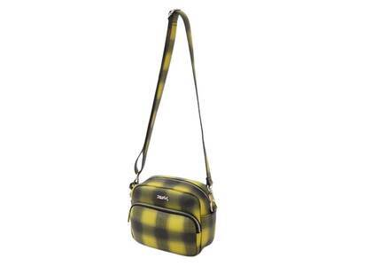 X-Girl Faux Leather Shoulder Bag Yellowの写真