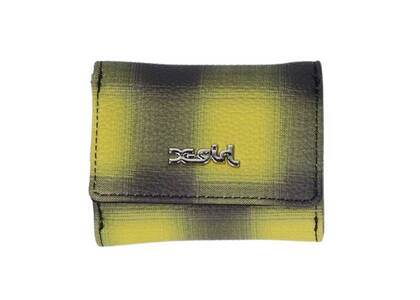 X-Girl Faux Leather Wallet Yellowの写真
