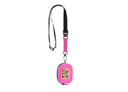 X-Girl Leopard Box Logo Coin Case Pinkの写真