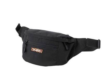 X-Girl Leopard Box Logo Hip Bag Blackの写真
