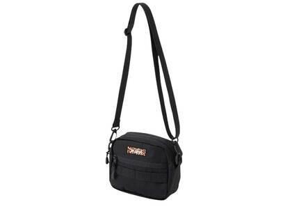 X-Girl Leopard Box Logo Shoulder Bag Blackの写真