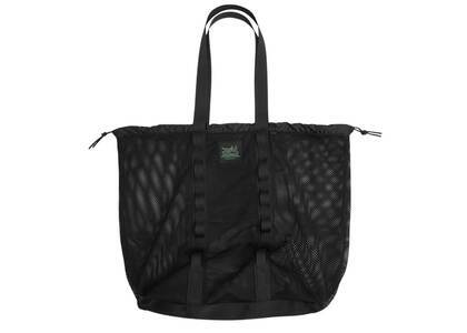 X-Girl Mesh Big Tote Bag Blackの写真