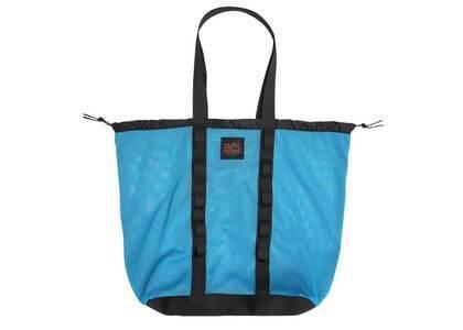 X-Girl Mesh Big Tote Bag Blueの写真