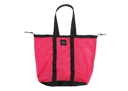 X-Girl Mesh Big Tote Bag Pinkの写真