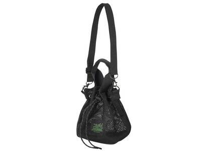 X-Girl Mesh Bucket Shoulder Bag Blackの写真