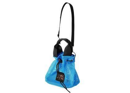 X-Girl Mesh Bucket Shoulder Bag Blueの写真