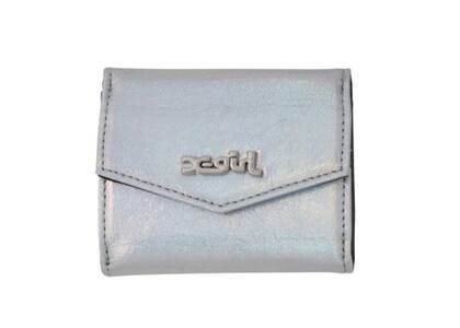 X-Girl Metallic Mini Wallet Silver の写真