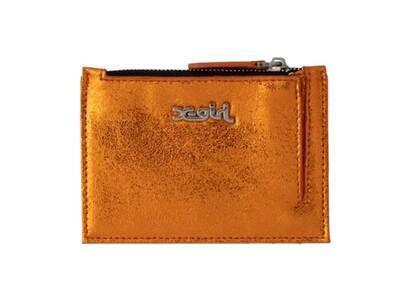 X-Girl Metallic Pass Case Orangeの写真