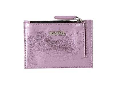 X-Girl Metallic Pass Case Pinkの写真