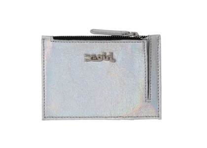 X-Girl Metallic Pass Case Silverの写真