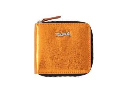 X-Girl Metallic Wallet Orangeの写真