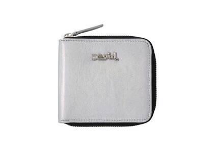 X-Girl Metallic Wallet Silverの写真