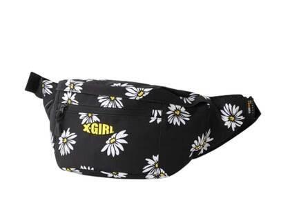 X-Girl Mills Logo Adventure Hip Bag Yellowの写真