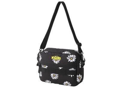 X-Girl Mills Logo Adventure Shoulder Bag Yellowの写真