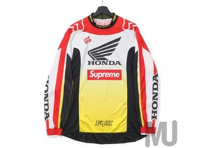 Supreme Honda Fox Racing Moto Jersey Top Red の写真