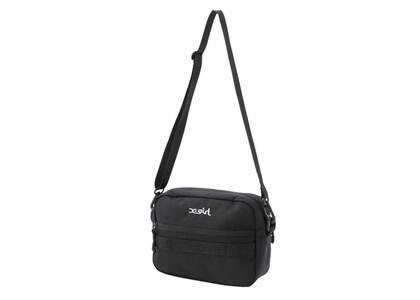 X-Girl Mills Logo Shoulder Bag Blackの写真