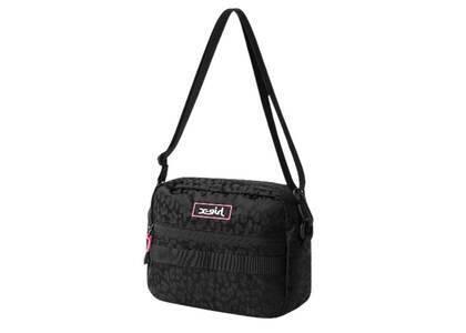 X-Girl Mills Logo Shoulder Bag Pinkの写真