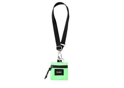 X-Girl Neck Strap Coin Case Light Greenの写真