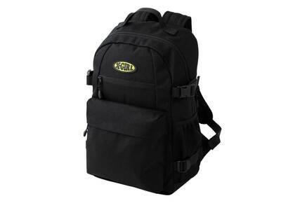 X-Girl Oval Logo Backpack Blackの写真