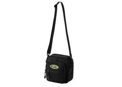 X-Girl Oval Logo Shoulder Bag Blackの写真