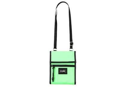 X-Girl Portable Shoulder Pouch Light Greenの写真