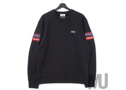 Supreme Honda Fox Racing Crewneck Blackの写真