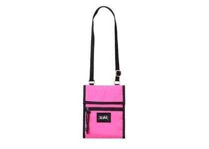 X-Girl Portable Shoulder Pouch Pinkの写真