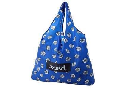X-Girl Reusable Bag Blueの写真