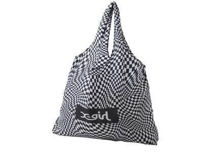 X-Girl Reusable Bag Whiteの写真