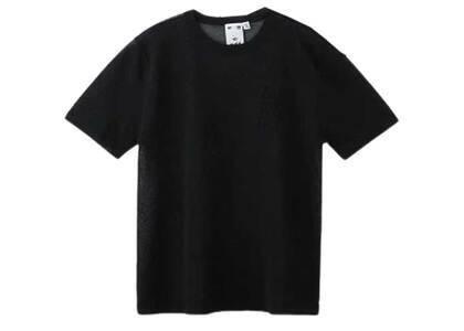 X-Girl Sheer knit Top Blackの写真