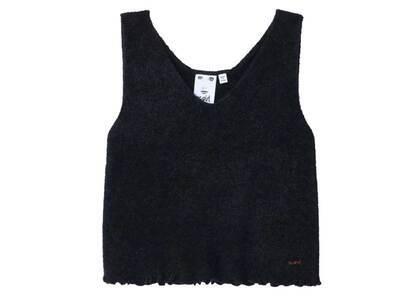 X-Girl V-Neck knit Top Blackの写真