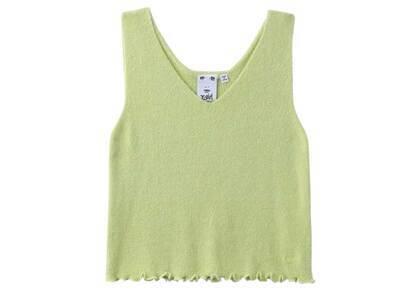 X-Girl V-Neck knit Top Light Greenの写真